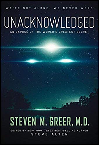 Unacknowledged-Stephen Greer Richmond IONS Meeting